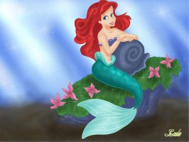 Princess Ariel by Laurine-Tellier