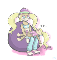 She Was Tired by Artizluv