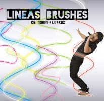 lineas brushes by JonasFan93