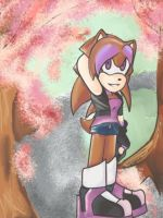 Laina In The Blossoms by Laina-Paramore
