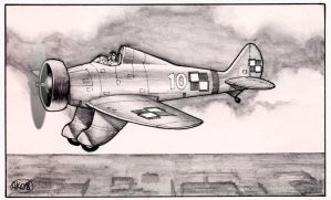 Polish Peashooter P-26 by Frohickey