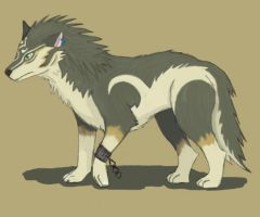 Wolf Link by Tierrin