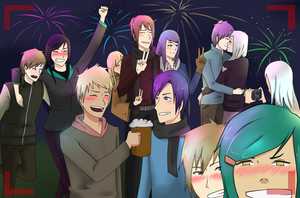 New Year ! HSV by KeiARTx