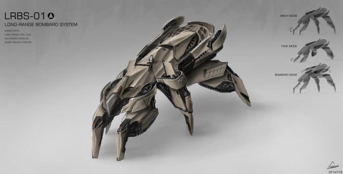 ANOTHER MECH DESIGN/CONCEPT ART by nobody00000000