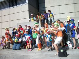 AX11: PKMN anime trainers by Sonicbandicoot