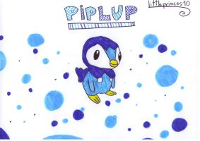 Piplup_  for rosalinda02 by littleprinces10