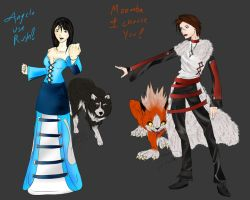 FF8 Dresspheres: Trainers by VanityElric