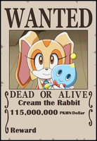 SPBWX Wanted Poster Cream by Aquamimi123