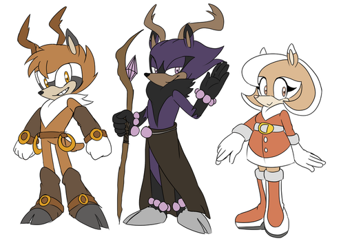 Sonic Deer Adoptables :CLOSED: by Zarashii