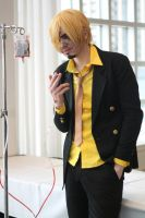 Blood Loss Sanji by staticguru