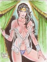 Wonder Woman (#5) by Rodel Martin by VMIFerrari