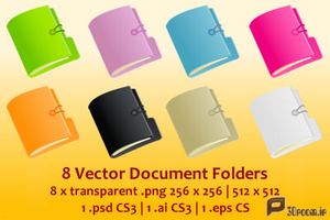 8-Vector-Document-Folders by p30room