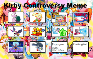 My Controversy meme of Kirby by YingYangHeart