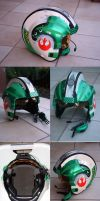 Custom X-wing helmet by Mace2006