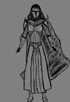 Lady Mialya - Concept Sketch by TheBothan
