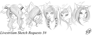 LS: Sketch Requests 3 by xXMTeeXx