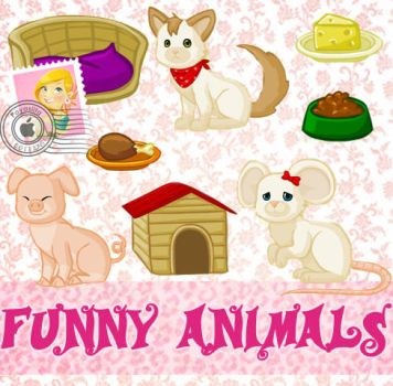 Funny Animals by Payasiita