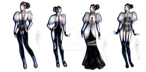 Victorian mistress collection by monnie-the-ghost