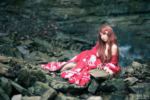 I saw her by the river by vickybunnyangel