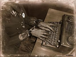 The Typist by Estruda
