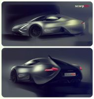 IED ABARTH scorpION - renders by emrEHusmen