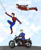 Superfamily (xD original title) by Dashita01