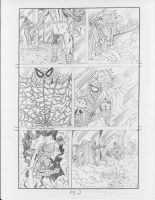Spider-man vs. Mysterio page 2 by RoyPrince