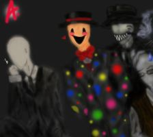 The Slender Bros! by JaxAugust