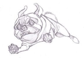 Pug by MadMosquito