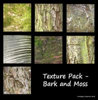 Texture Pack - Bark and Moss by rockgem