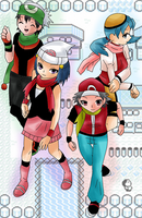 Four Generations of Trainers by latsy