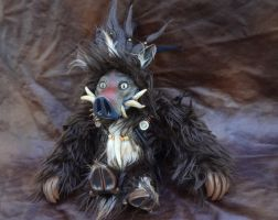 Boar doll by missmonster