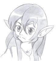 Miffed Hylian Girl by TheRepublicanMartian