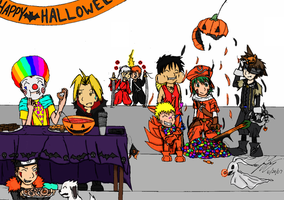 RC - Happy Halloween by TaintedTamer