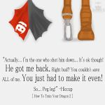 HTTYD2 - You Just Have to Make It Even by aonoa