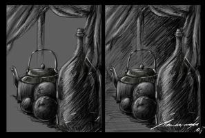 bodegon_with_tablet by keronetex