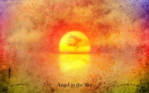 Angel in the Sky by Sirhaian