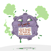 Shameful Koffing by Splapp-me-do