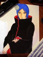 Konan marker drawing by dizzygirllovesyou