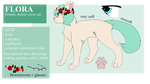 Flora 2017 Reference Sheet by the-basket-cat