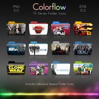 Colorflow TV Folder Icons 7 by Crazyfool16