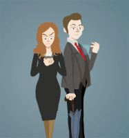 Mycroft and Anthea by sweetlynumb63