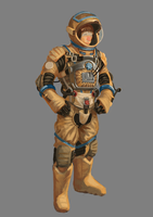 Space suit by Jack-Kirby-Crosby