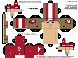 Andy Lee 49ers Cubee by etchings13