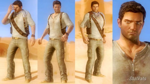 DOWNLOAD: NATHAN DRAKE - full import [DOA5LR] by SaafRats