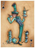 The Mad Hatter : Jack of Clubs by maina