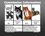 Commissions chart by Colliequest