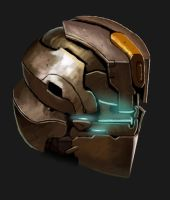 Dead Space helmet by kupo34