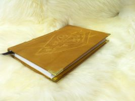 Hand Bound Leather Book #7 SKYRIM Elder Scrolls by MerrillsLeather