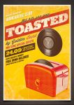 Toasted - Vintage Poster PSD Template by moodboy